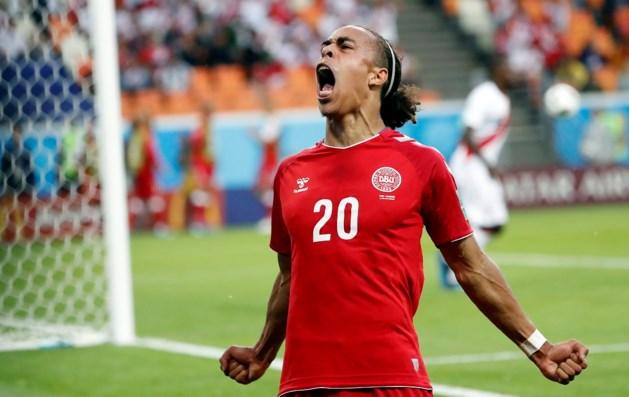 Denemarken heeft maar één kans nodig tegen slordig Peru