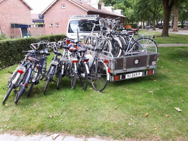 Politie ontdekt huis met tientallen gestolen fietsen