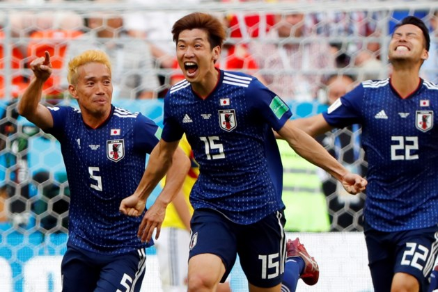 Japan verrast en wint van tien Colombianen
