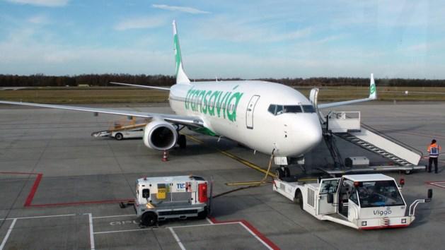 Brand in vliegtuig op Eindhoven Airport