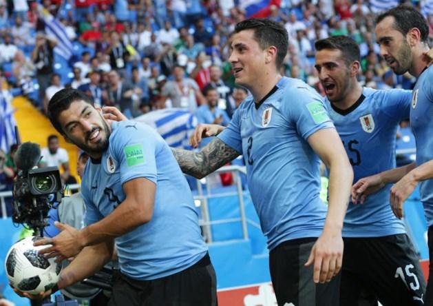Suárez brengt Uruguay en Rusland zekerheid