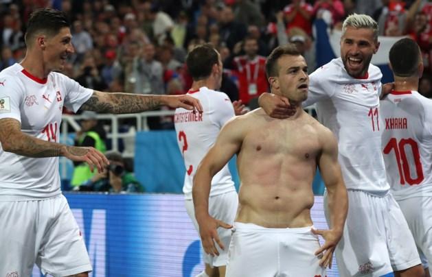 Zwitserland klopt Servië in laatste minuut
