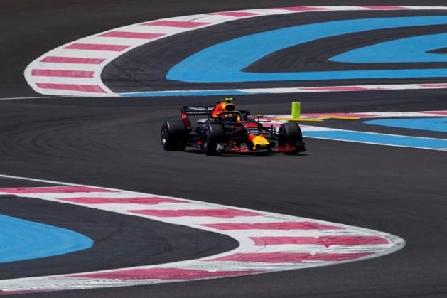 Verstappen zet derde tijd neer in tweede training GP Frankrijk
