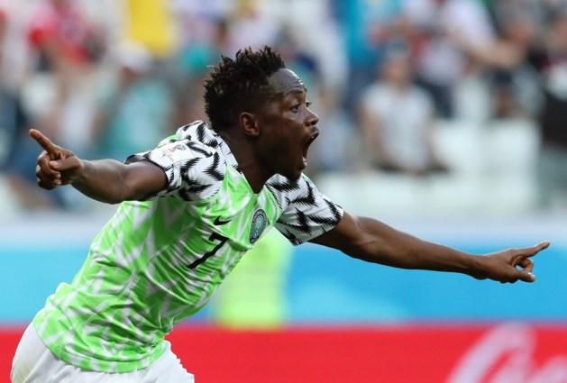 Voormalig VVV-speler Musa leidt Nigeria langs IJsland op WK