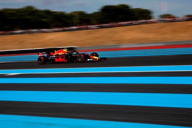 Verstappen op jacht naar podium in Frankrijk