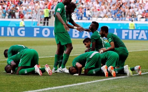 Saudi-Arabië sluit WK op de valreep af met zege
