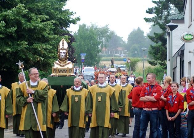 Hoogmis 'op Chalet Bergrust'; 'Oog van Sint Pieter' startpunt processie