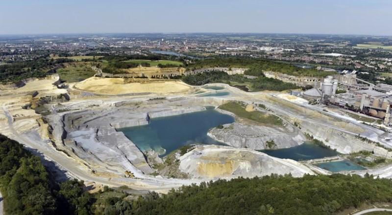 ENCI stopt formeel met mergelwinning: het einde van Maastrichts cement