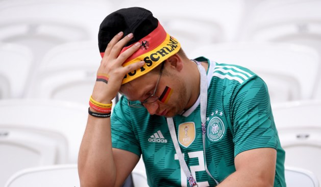 Duitsland was slechter dan ooit, 'maar wij waren er tenminste bij'