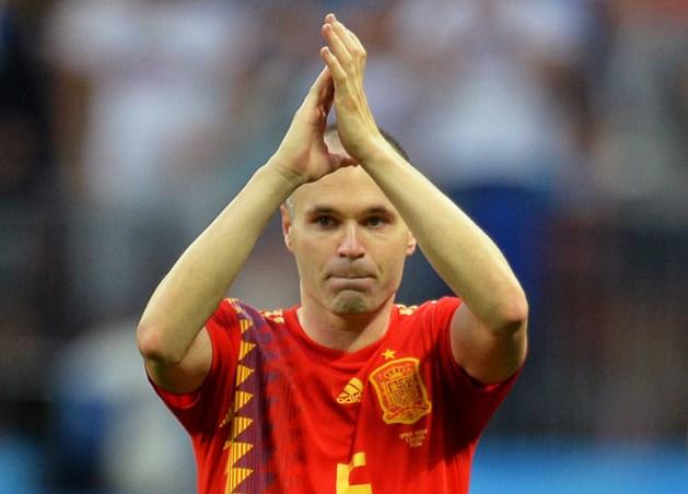 Iniesta (34) zwaait af bij Spaanse elftal