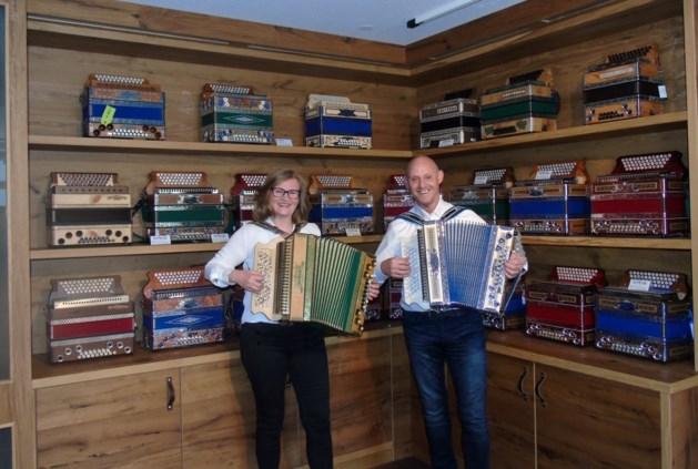 Harmonikaschool Parkstad viert eerste lustrum