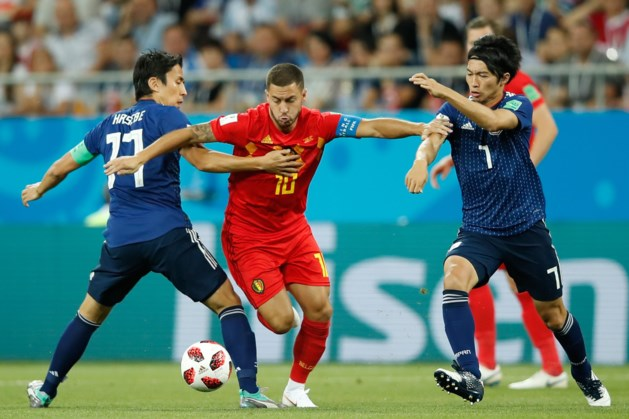 België met de hakken over de sloot door naar de kwartfinale