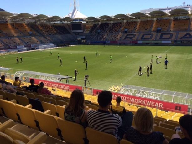 Eerste training Roda: veertien spelers, drie keepers