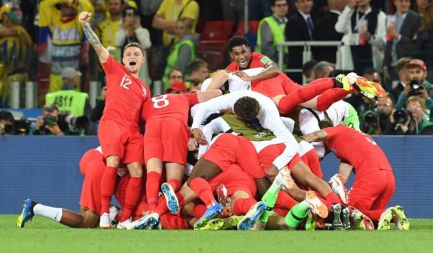 Engeland rekent af met penaltytrauma en schakelt Colombia uit