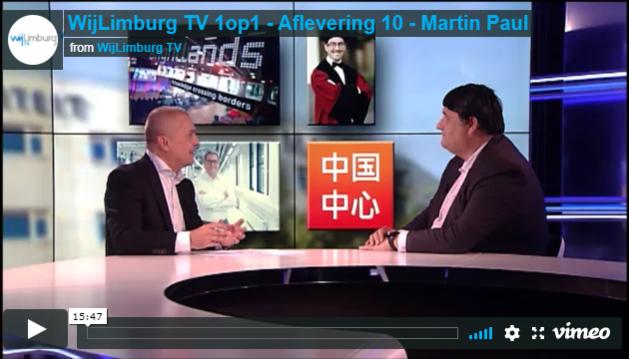 VIDEO: WijLimburg TV 1op1 - aflevering 10 - Martin Paul