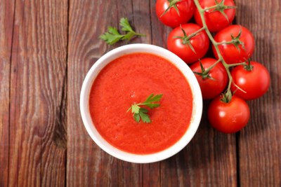 Comfortfood: tomatensoep met opa's kippen