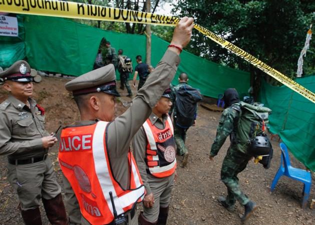 'Reddingsoperatie grot Thailand hervat'