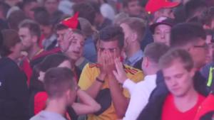 VIDEO - Belgisch Limburg ontroostbaar na verlies op WK