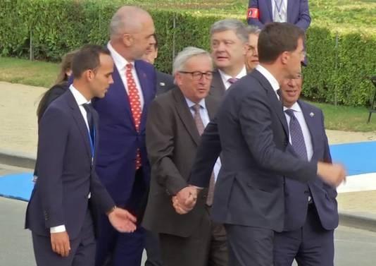 Wat is er aan de hand met Juncker?