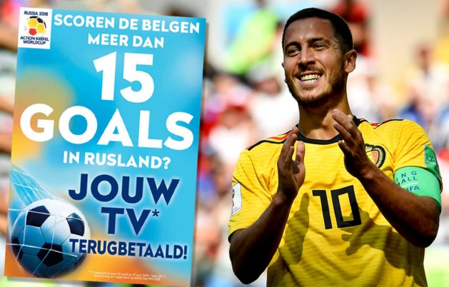 Gratis tv voor Belgen door 16 goals van België
