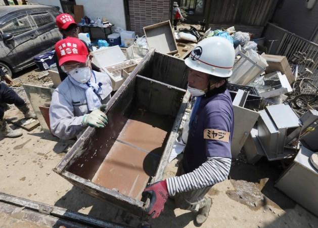 Japan na overstromingen nu geteisterd door hittegolf: vijf doden