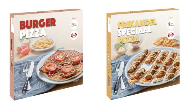 Nieuwe Venlose snacks: burger pizza en frikandel speciaal pizza