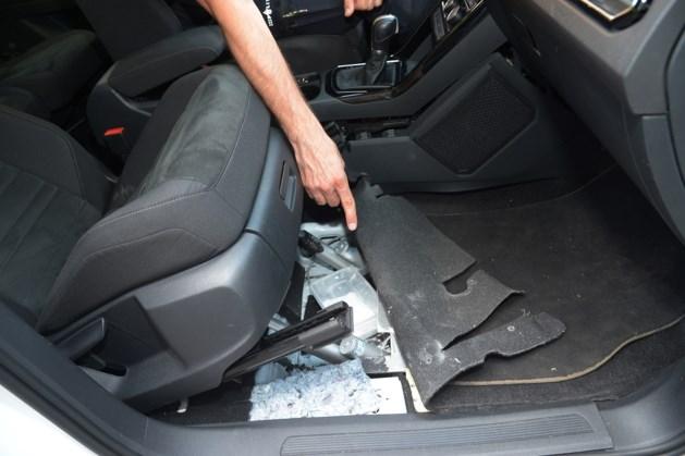 Politie ontdekt verborgen coke in Venlose drugsauto