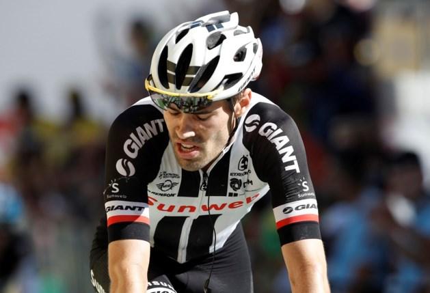 Tom Dumoulin blijft derde na vermakelijke etappe