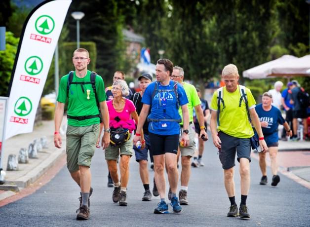 Vierdaagse trekt door Limburg