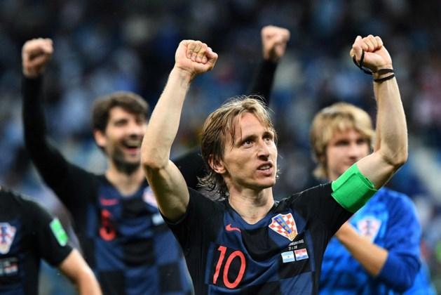 Spelers Kroatië maken groots gebaar en schenken miljoenenpremie aan goed doel