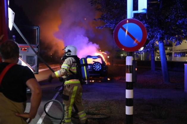 Bij overval gestolen Land Rover uitgebrand teruggevonden