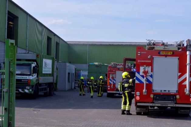 Brand bij papierrecyclingbedrijf in Swalmen