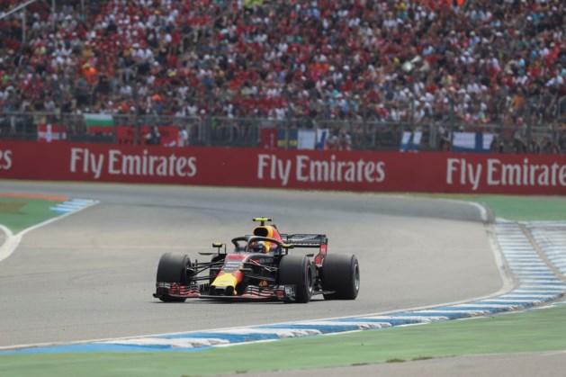 Vierde plek voor Verstappen in Grand Prix van Duitsland