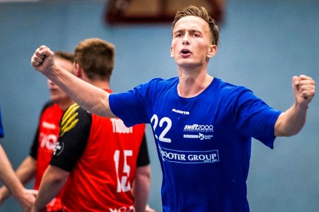 Handballer Chretien Op het Veld naar Tongeren