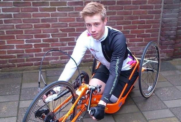 Heerlense handbiker geselecteerd voor WK
