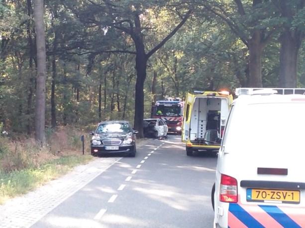 Drie gewonden bij zwaar ongeluk in Broekhuizenvorst