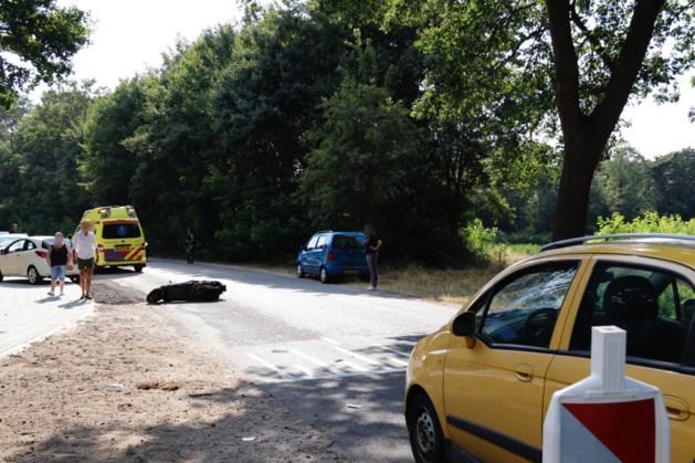 Scooterrijder raakt gewond in Heijen