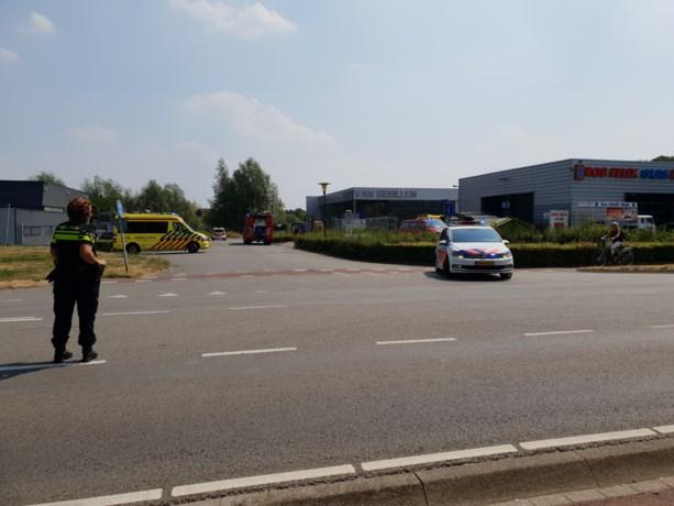 Persoon bekneld in Maastricht, slachtoffer met spoed naar ziekenhuis