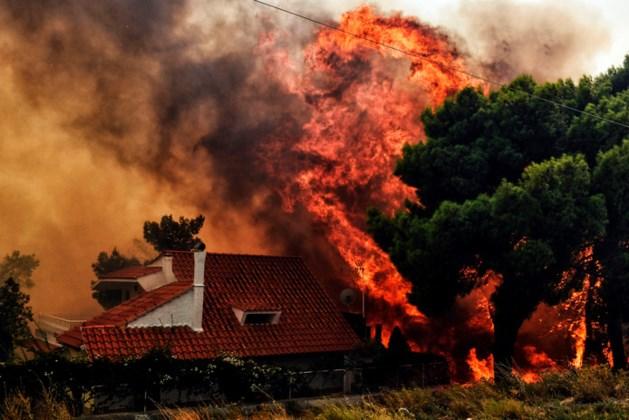 Zeker zestig doden door Griekse natuurbranden