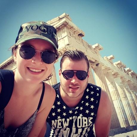 Broer en zus uit Venray in Griekenland: 'Ik zag huizen, auto's en bussen in brand staan'