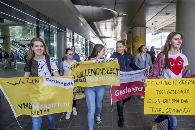 Puinruimer bij VMBO Maastricht: 'Er is altijd gedoe rond examens'