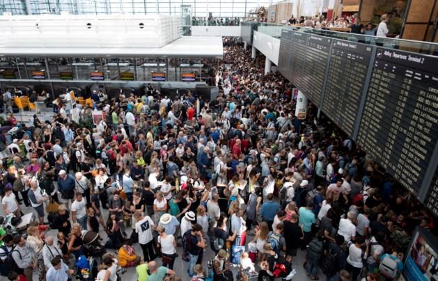Vrouw veroorzaakt chaos op vliegveld München