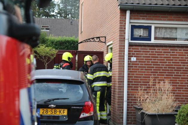 Vrouw naar ziekenhuis na woningbrand