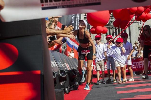 Els Visser zegeviert in Ironman van Maastricht