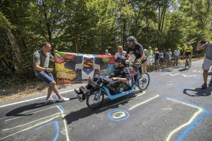 Dubbele inspanning bij Ironman: Mathon neemt Glenn op sleeptouw