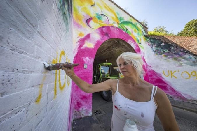 Kunstwerk Bocholtz mogelijk beklad door ergernis over Fortuna-kleuren
