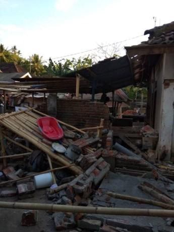 Paniek door nieuwe aardbeving op Lombok
