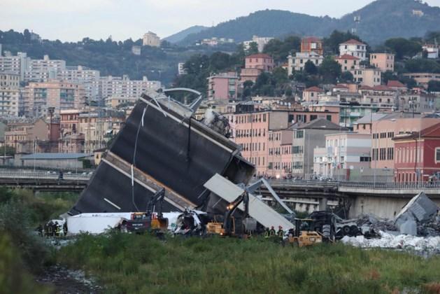Genua wil ingestorte brug herbouwen