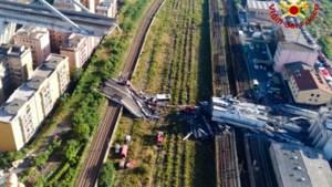 Dodental instorten brug Genua terug naar 38