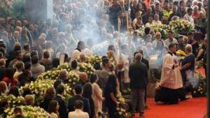 Eerste slachtoffers ongeluk Genua herdacht
